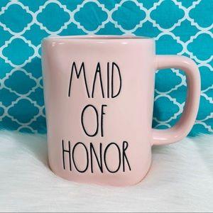 ⭐️ 2/25 Rae Dunn MAID OF HONOR PINK mug